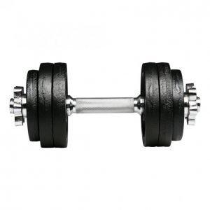 Sport+Fitness Käsipaino 15kg Säädettävä