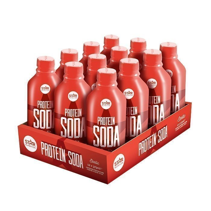 Star Nutrition 12 x Protein Soda 375 ml
