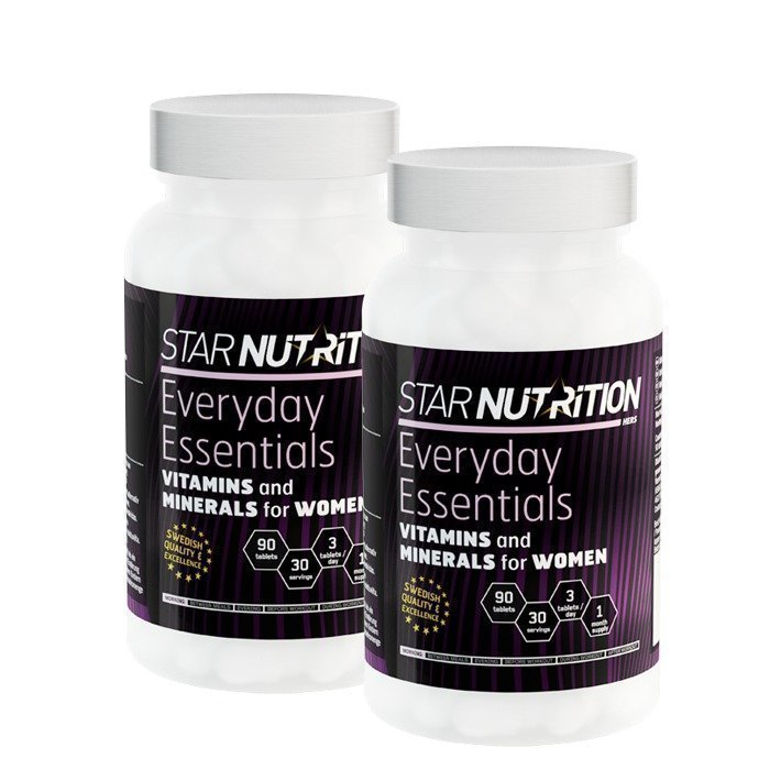 Star Nutrition 2 x Everyday Essentials 90 tabs