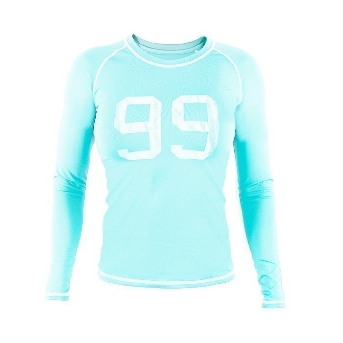 Star Nutrition -99 Long sleeve Turquoise Women S