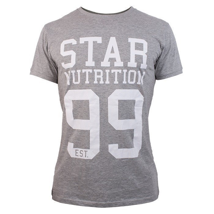 Star Nutrition -99 T-shirt Grey Men