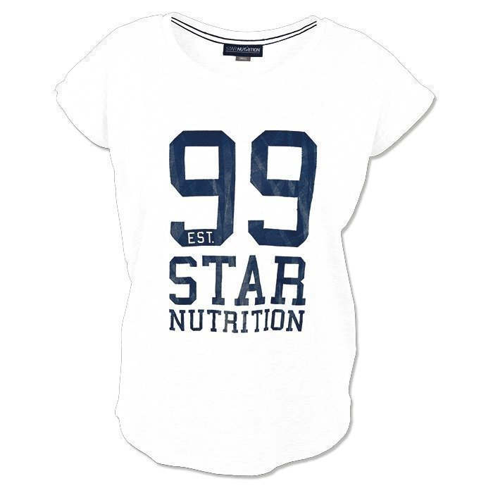 Star Nutrition -99 T-shirt White Women XL