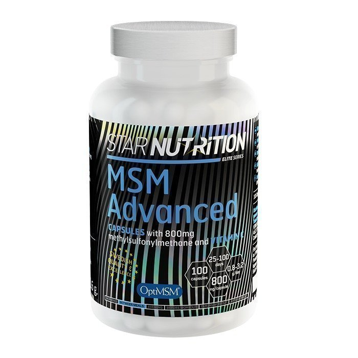 Star Nutrition MSM Advanced Capsules 100 caps