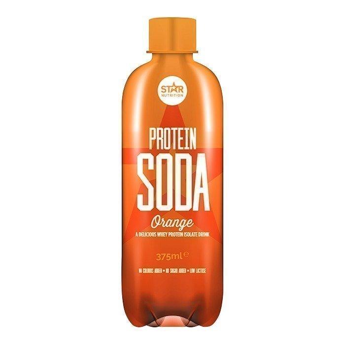 Star Nutrition Protein Soda 375 ml Orange