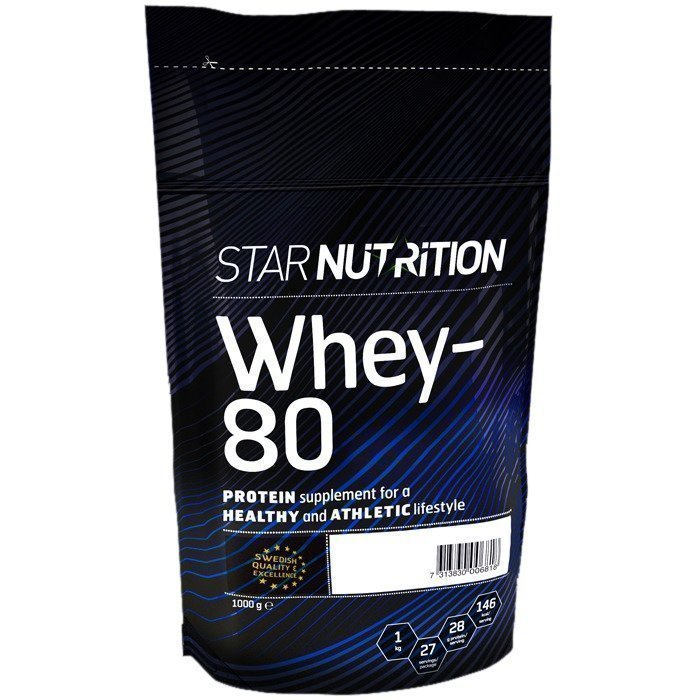 Star Nutrition Whey-80 1 kg Strawberry Champagne