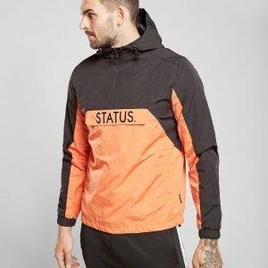 Status Derby Pullover Jacket Musta