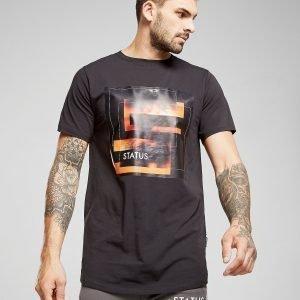Status Girl T-Shirt Musta