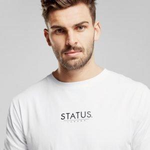 Status Taylor Core T-Paita Valkoinen