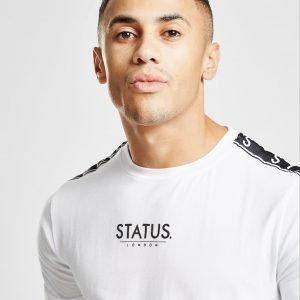 Status Wilson T-Paita Valkoinen