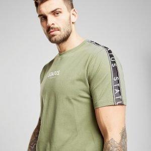 Status Wilson T-Shirt Khaki / Black