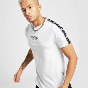 Status Wilson T-Shirt Valkoinen