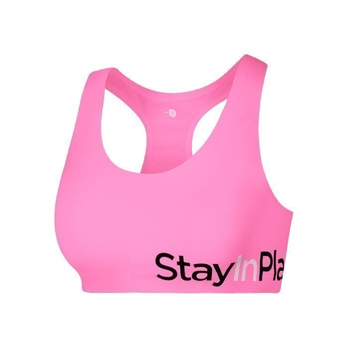 Stay In Place Active Sports Bra AB bright rose L