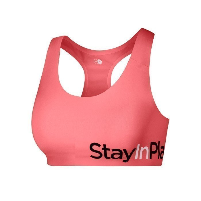Stay In Place Active Sports Bra Fusion Coral