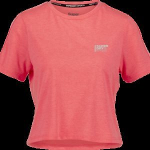 Superdry Core Crop Branded Tee Treenipaita