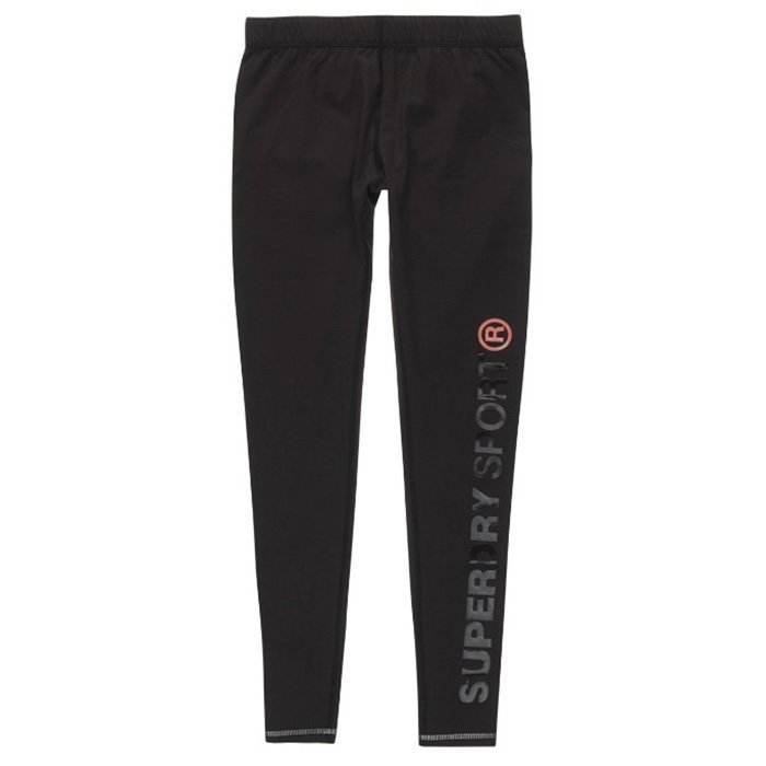 Superdry Gym Logo Legging Black