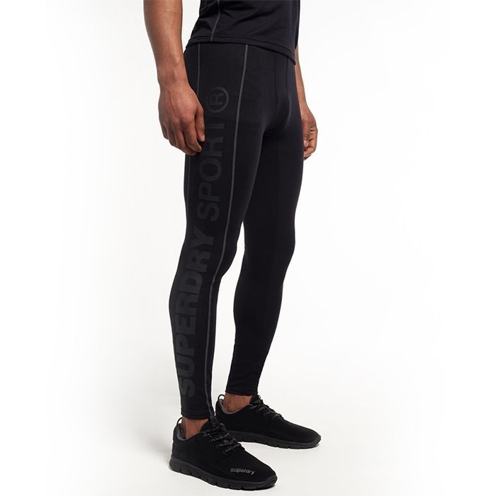 Superdry Gym Sport Runner Legging Black