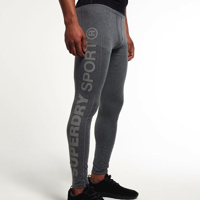 Superdry Gym Sport Runner Legging Grey