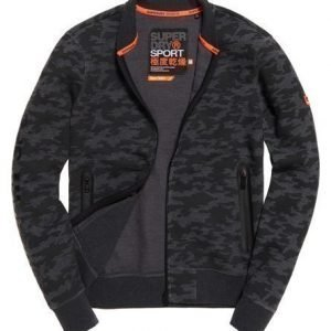 Superdry Gym Tech Bomber Black Camo S