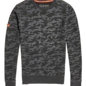 Superdry Gym Tech Embosesed Crew Camo