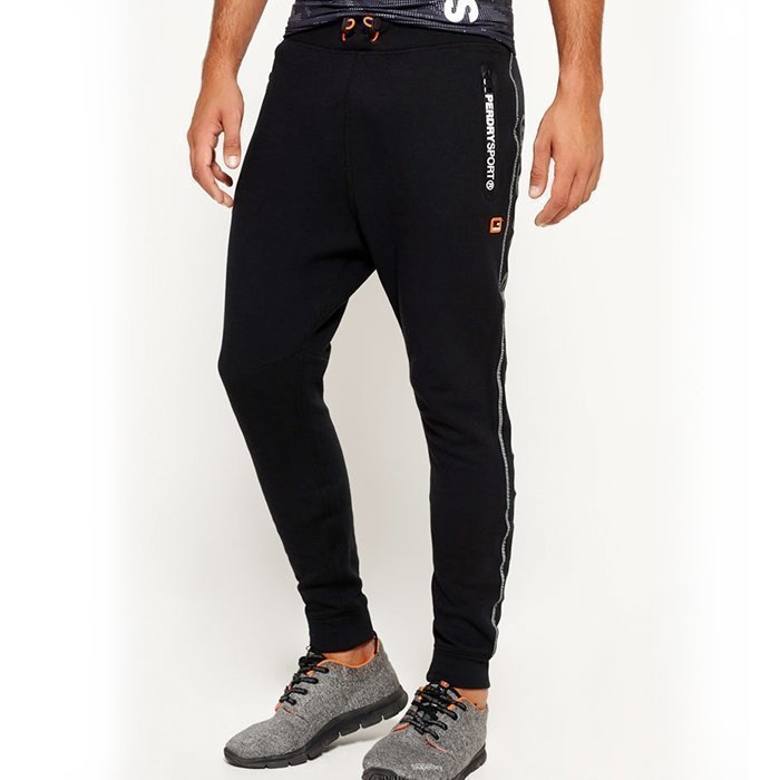 Superdry Gym Tech Slim Jogger Black