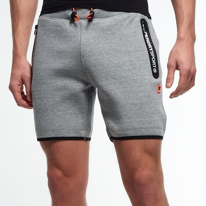Superdry Gym Tech Slim Shorts Grey M