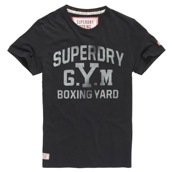 Superdry Men's Boxing Yard Tee Vintage Black S