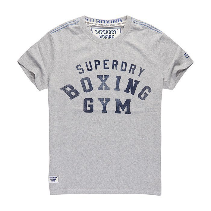 Superdry Men's Boxing Yard Tee White/Black M
