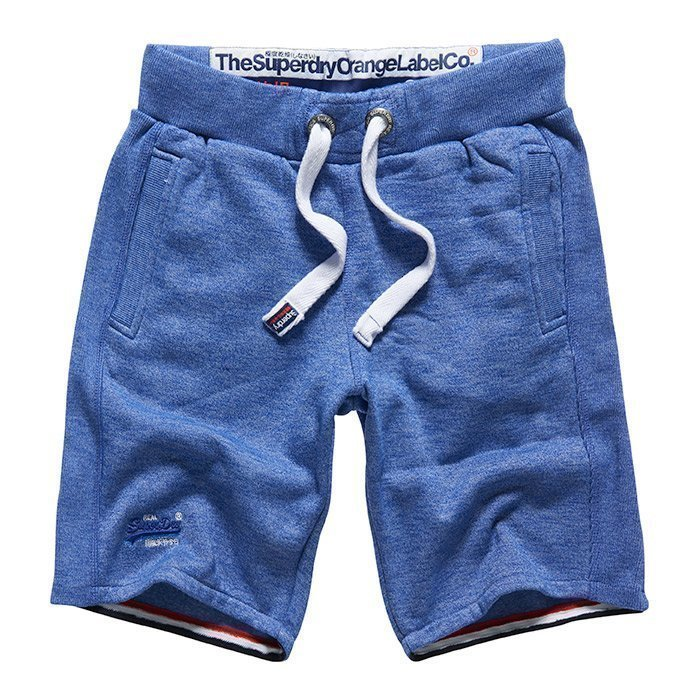 Superdry Men's Orange Lable Cali Slim Short Mazarine Blue Mega S