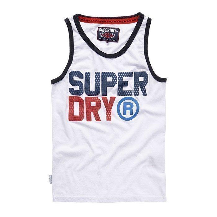Superdry Men's Star State Vest White