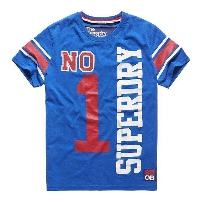 Superdry Men's Superiron Tee Blue L