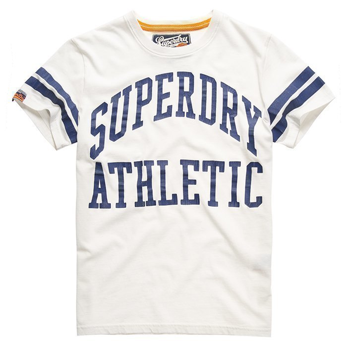 Superdry Men's Tiger Athletics Tee White L