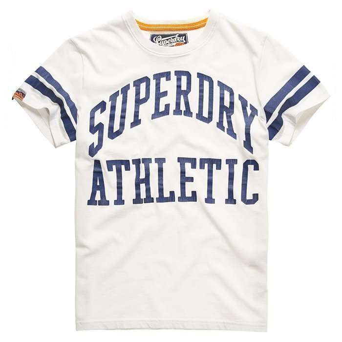 Superdry Men's Tiger Athletics Tee White XL