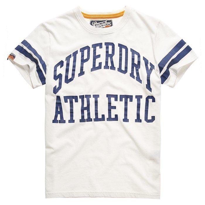Superdry Men's Tiger Athletics Tee White XXL