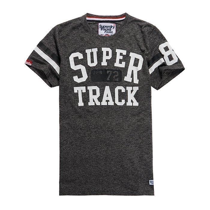Superdry Men's Trackster Sprint Tee Black S