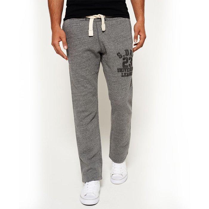 Superdry Men's University Jogger Grey XL