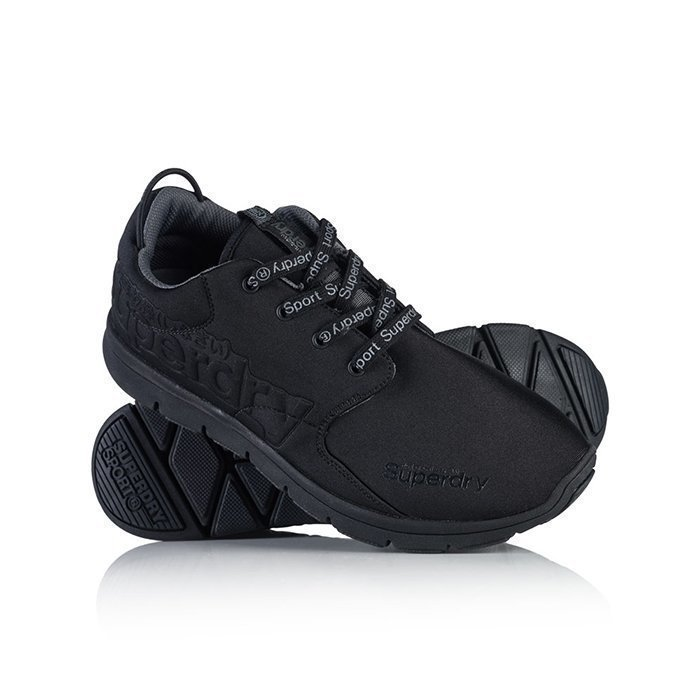 Superdry Scuba Runner Shoes Black/Black 7