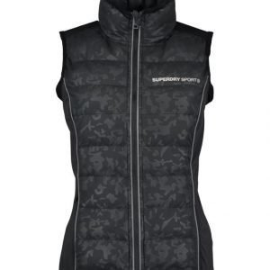 Superdry Sport Gym Quilted Gilet Liivi