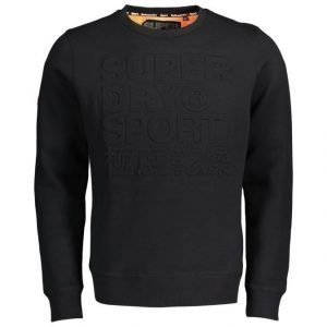 Superdry Sport Gym Tech Embosesed Crew Collegepaita
