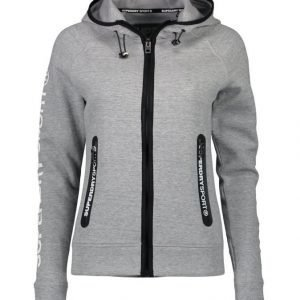 Superdry Sport Gym Tech Ziphood Collegetakki