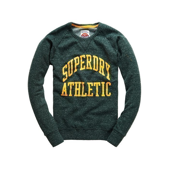 Superdry Tigers Athletics Crew Green L