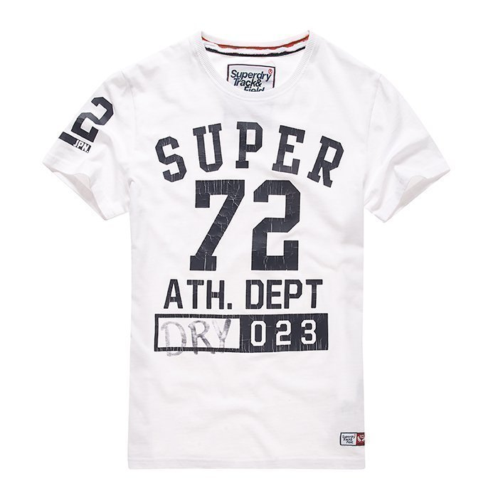 Superdry Trackster S/S TEE White L