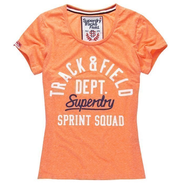 Superdry Trackster Tee Snowy S