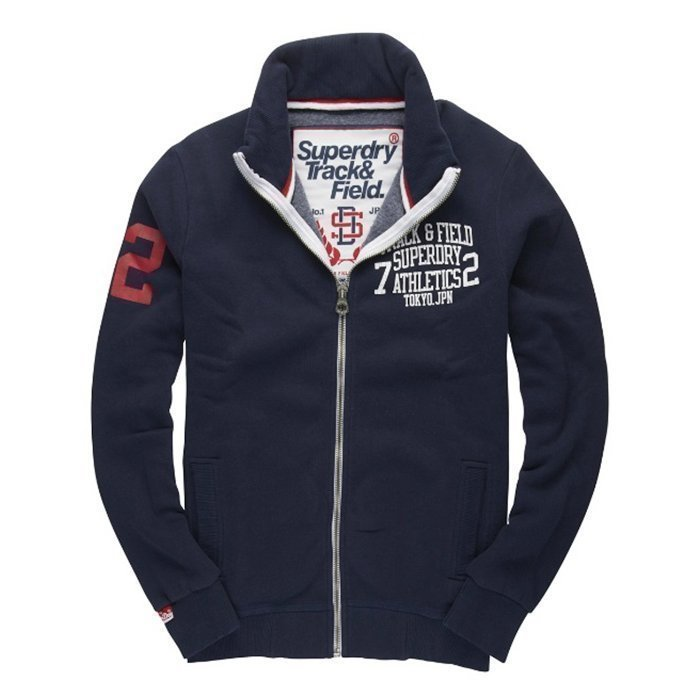 Superdry Trackster Track Nautical Navy S