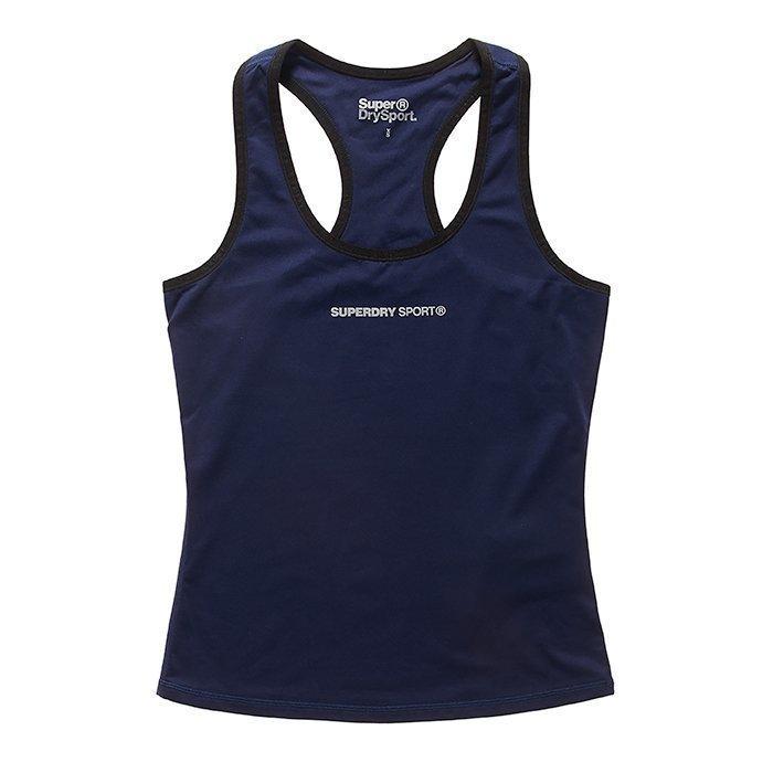 Superdry Women's Superdry Core Gym Vest Blue M