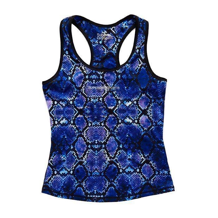 Superdry Women's Superdry Core Gym Vest Purple Python XS