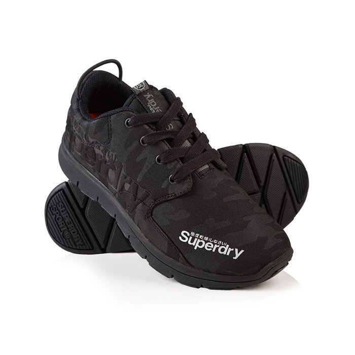 Superdry Women's Superdry Scuba Runner Black/Camo 4