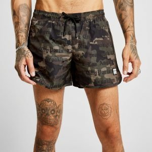 Supply & Demand Attention Swim Shorts Vihreä