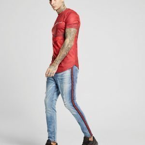 Supply & Demand Bailey Taped Skinny Jeans Sininen