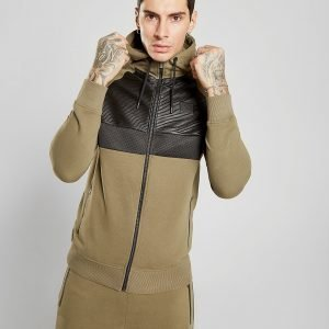 Supply & Demand Barlow Hoodie Khaki / Black