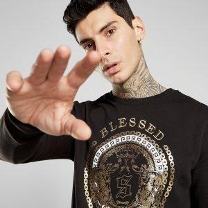 Supply & Demand Baroque Crew Sweatshirt Musta